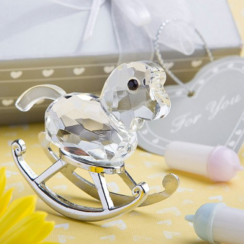 Crystal Rocking Horse Keepsake