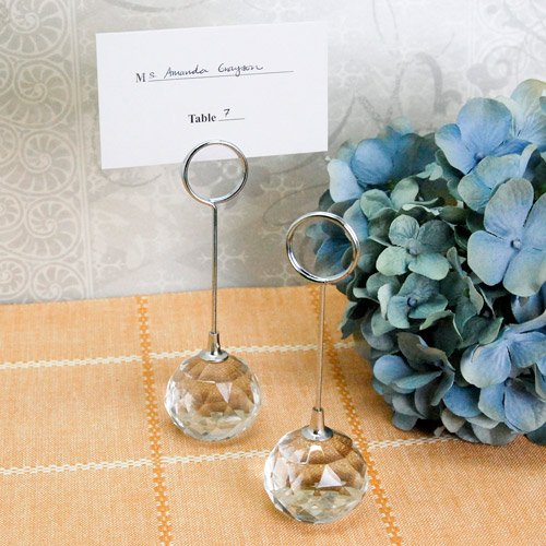 Crystal Ball Place Card Holder
