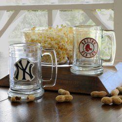 Personalized MLB Medallion Beer Mug
