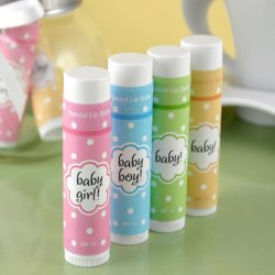 Baby Shower Lip Balm Favor