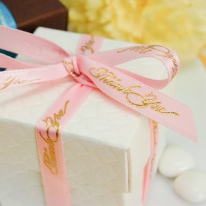 """Thank You"" Favor Ribbon"