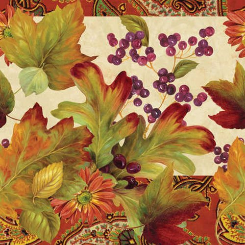 Leaves N' Berries Tablecover