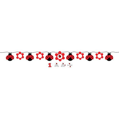 Ladybug Fancy Party Banner