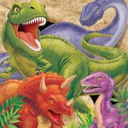 Dino Blast Luncheon Napkins