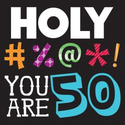 Holy Bleep 50th Birthday Luncheon Napkins