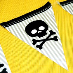 Pirate Parrty Flag Banner