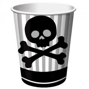 Pirate Parrty 9 oz Hot/Cold Cups