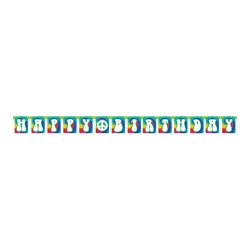 Tie Dye Fun Birthday Flag Banner