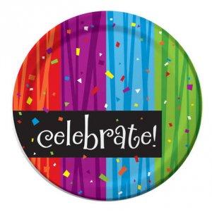 "Celebrate 8.75"" Dinner Plates"
