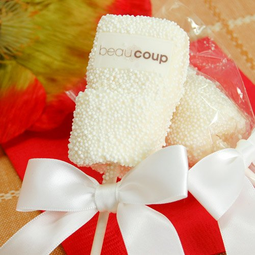 Corporate Logo Marshmallow Pop