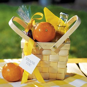 Medium Decorative Picnic Basket