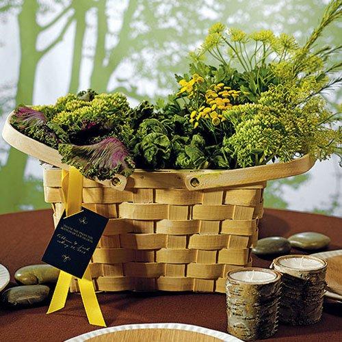Large Decorative Picnic Basket