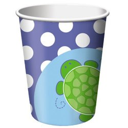 Turtle 9 oz. Cups