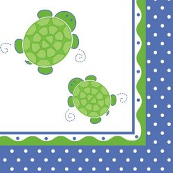 Turtle Luncheon Napkins