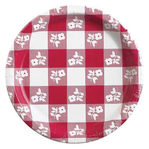 Red Gingham 8.75