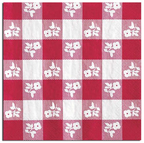 Red Gingham Luncheon Napkin