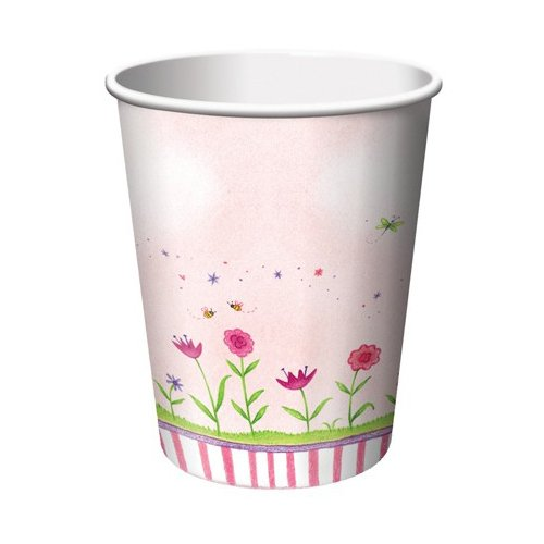Garden Fairy 9 oz. Cups