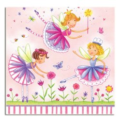 Garden Fairy Luncheon Napkins