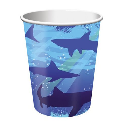 Shark Splash 9 oz. Cups