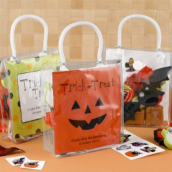 Personalized Halloween Mini Gift Tote