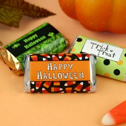 Personalized Halloween Hershey's Miniatures