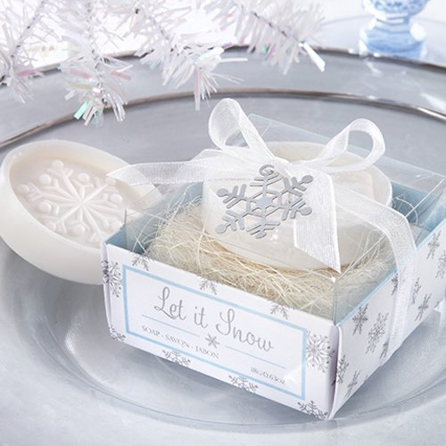 Snowflake Soap Favor