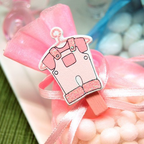 Baby Jumper Clothespin Favor Accents