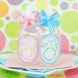 Mini Baby Boy and Girl Plastic Baby Bottles