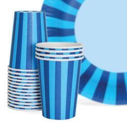 Bold Stripes Paper Cups