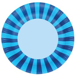 Bold Stripes Paper Plates