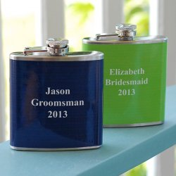 Personalized Custom Color Flask