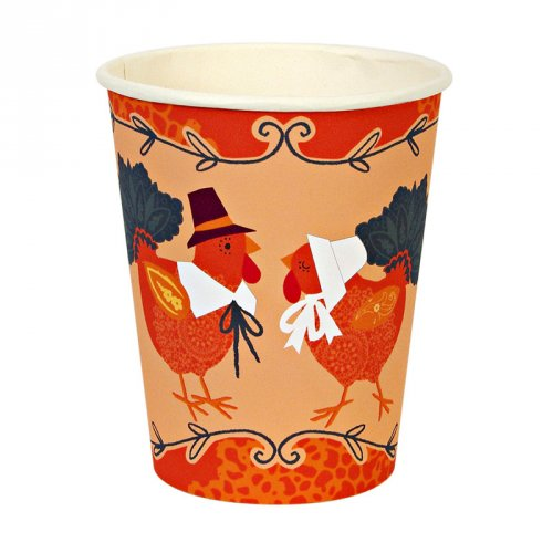 Turkey with Hats Cups