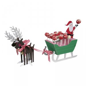 Santa & Reindeer Cake Pop Set