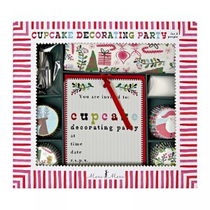 Holiday Cupcake Decorating Party Kit