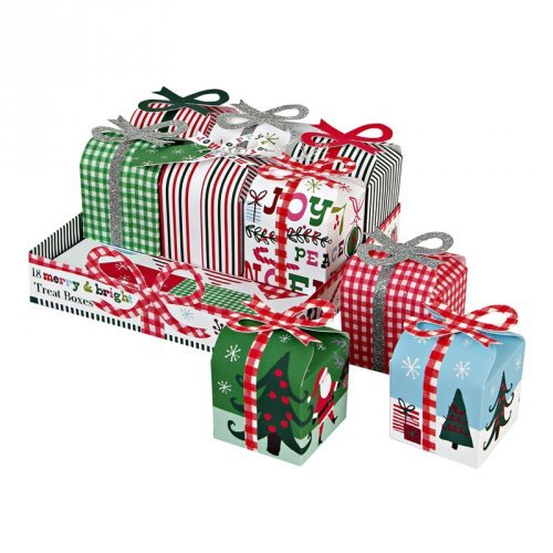 Merry & Bright Treat Present Boxes