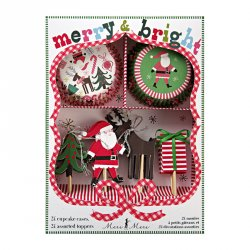 Merry & Bright Cupcake Kit