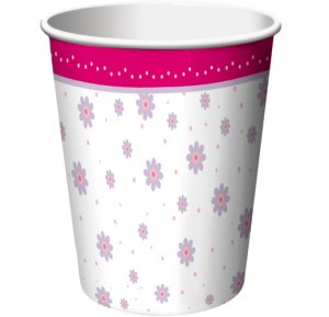 Tutu Much Fun 9 oz. Cups