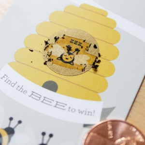 Beehive Scratch Cards Game