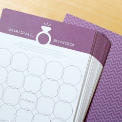 Wedding Ring Bingo Game