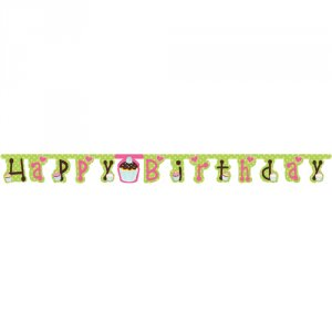 "Sweet Treats ""Happy Birthday"" Banner"