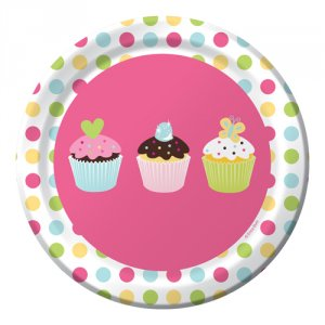 "Sweet Treats 6.75"" Luncheon Plates"