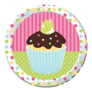 "Sweet Treats 8.75"" Dinner Plates"