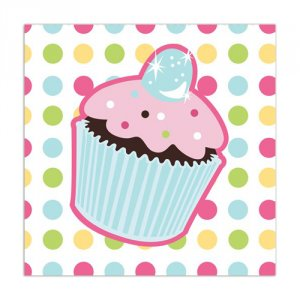 Sweet Treats Beverage Napkins