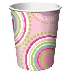 Mod Butterfly 9 oz. Cups