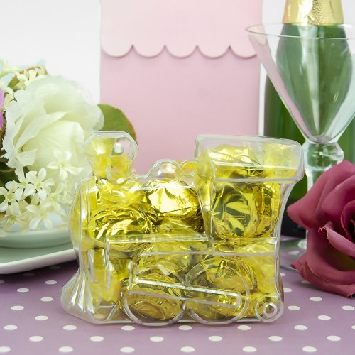 Clear Acrylic Train Favor Box