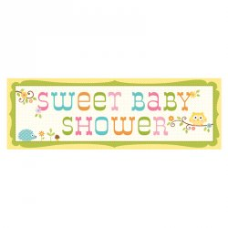 Happi Tree Baby Shower Banner