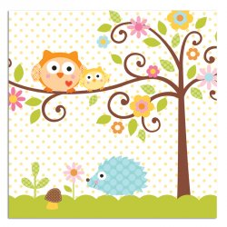 Happi Tree Luncheon Napkins