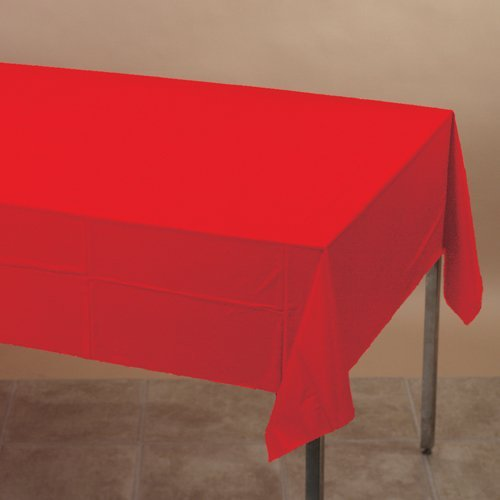 Classic Red Tablecover