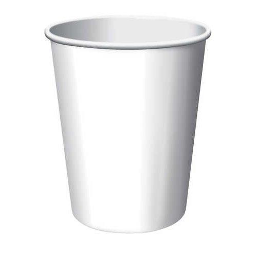 White 9 oz. Cup