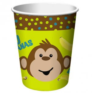 Monkeyin' Around 9 oz. Cups